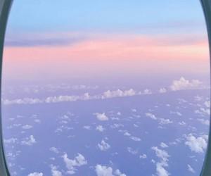 avion, cloud, and vue avion image