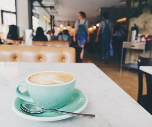 brunch, cafe, and coffee image