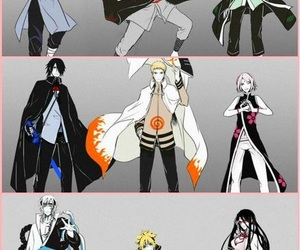 naruto, anime, and boruto image