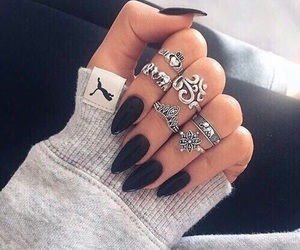 aesthetic, chic, and nail image