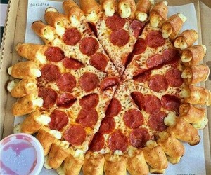 bae, cheese, and crust image