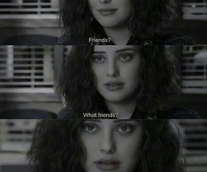 13 reasons why, hannah baker, and friends image