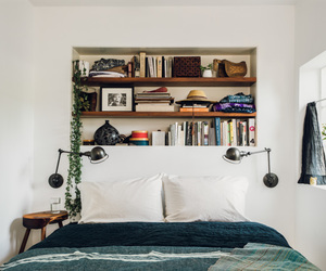 bedroom, books, and home image