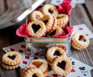 Cookies, desserts, and heart image