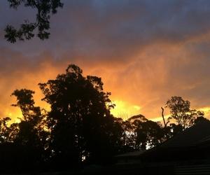 australia, beautiful, and fire image
