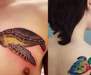 fascinating, turtle, and Tattoos image