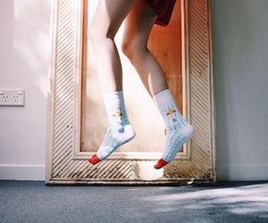 beautiful, music, and socks image