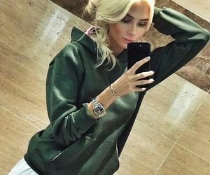 alena, hair, and fashion image