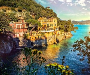 beauty, italy, and portofino image