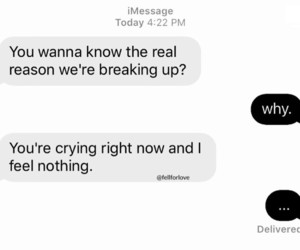 alone, break up, and cry image