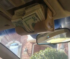 money, car, and rich image