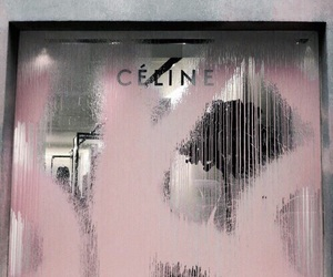 celine, pink, and luxury image