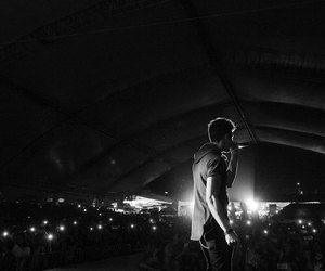 black and white, concert, and cnco image