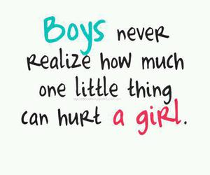 boy, girl, and hurt image