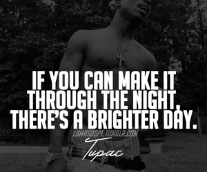2pac, quote, and love image
