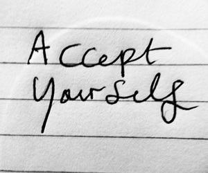 quotes, yourself, and accept image