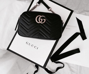 gucci, fashion, and black image