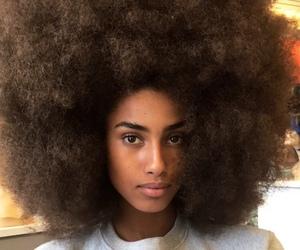 melanin, Afro, and beauty image