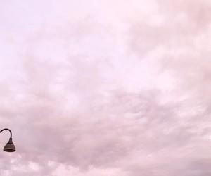 dress, pink sky, and moonlight princess image