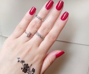 makeup, nail polish, and nails image