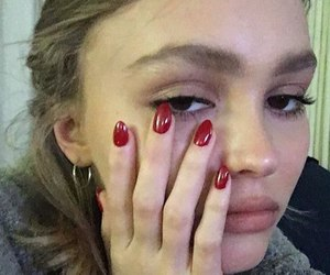 alternative, lily rose melody depp, and grunge image