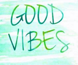 good vibes, wallpaper, and green image