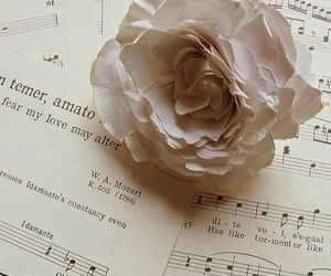 life, music, and roses image