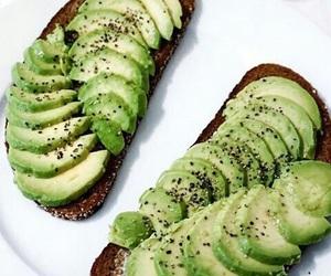 food, avocado, and health image