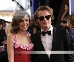 couple, cute, and natalia dyer image