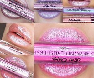 lipstick, makeup, and diamond image