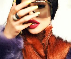 art, kim kardashian, and glamour image