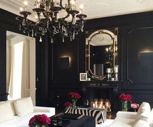 black, decor, and house image