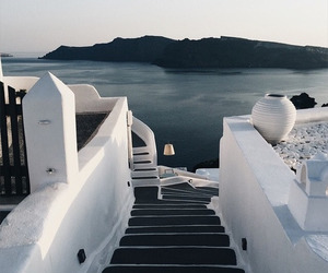 Greece, santorini, and greek islands image