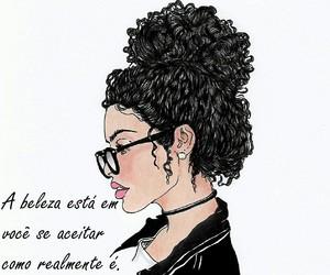 art, curly, and desenho image