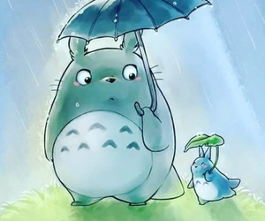 ghibli, My Neighbor Totoro, and totoro image