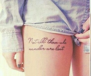 quote, quote tattoo, and tattoo image