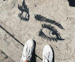 art, eyes, and tumblr image