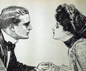1900s, beauty, and charles dana gibson image