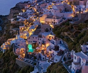 Greece, light, and beauty image