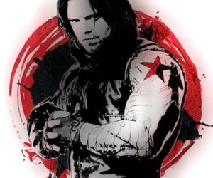 bucky barnes, Marvel, and sebastian stan image