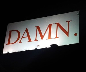 damn and words image
