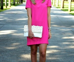 chic, colorful, and pink image