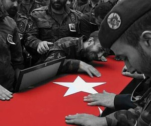 turk, turkiye, and şehit image