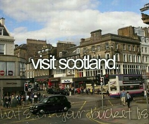 scotland, travel, and before i die image