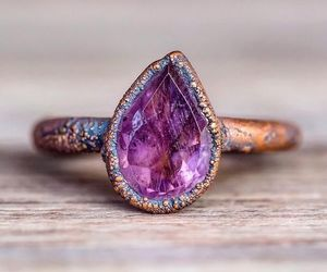 ring, amethyst, and beauty image