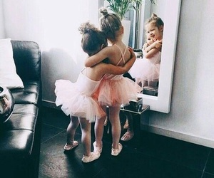 cute, sisters, and baby image