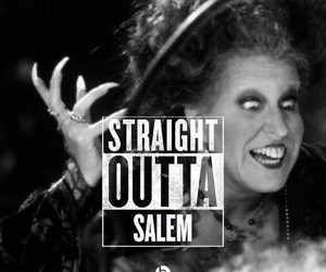 Halloween, salem, and witch image