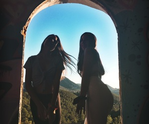 bff, summer, and views image