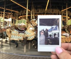carousel, disneyland, and magic image