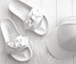 white, fashion, and puma image